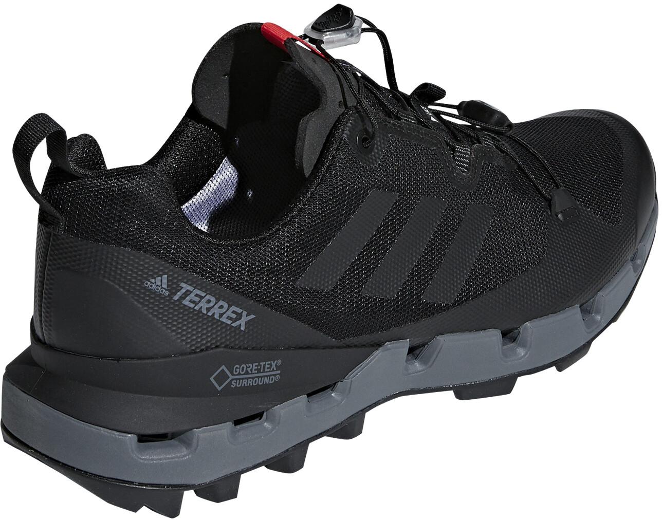 239f8ce4b3 adidas TERREX Fast GTX-Surround Running Shoes Men grey black at ...
